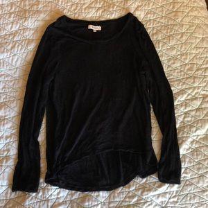 Long sleeve black madewell shirt
